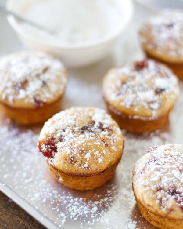 焦糖核桃蘋果Muffins