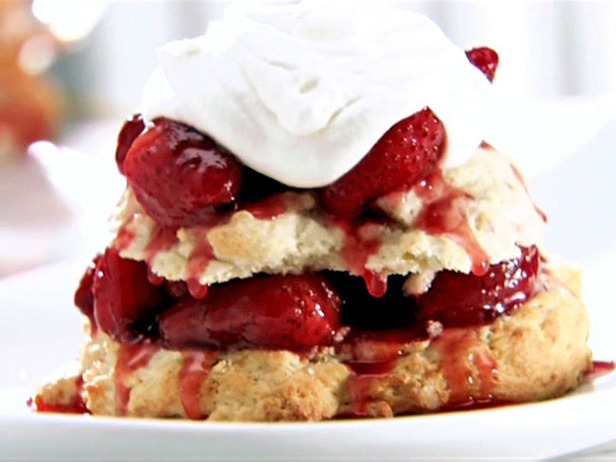 莓果果醬淋比司吉