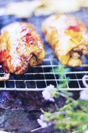 烤雞翅 圖片翻拍自 Jamie magasine法文版