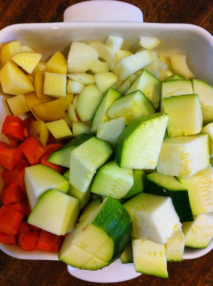 來自阿嬤菜園的蔬菜