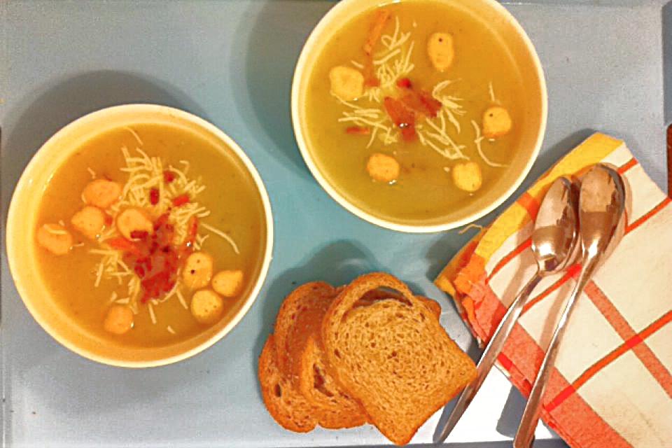 法式家常料理-馬鈴薯大蔥濃湯-2