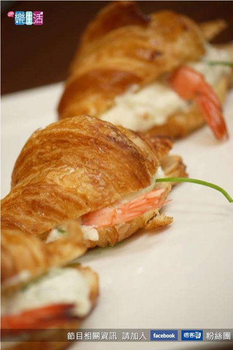 法式家常料理-可頌奶油蝦