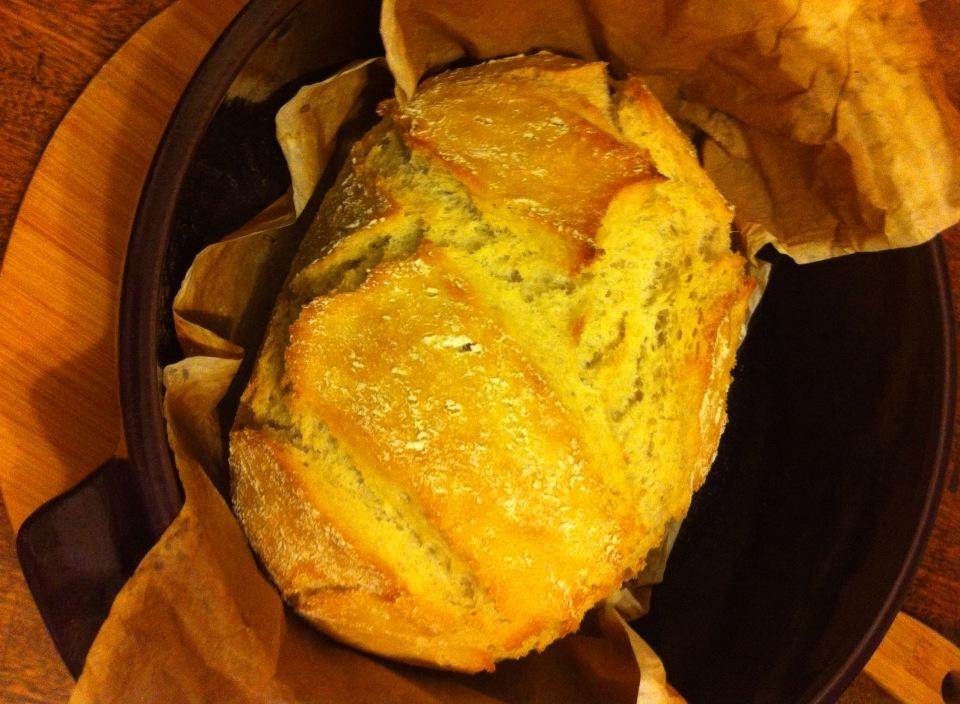 外脆,內軟的法式鄉村手工麵包