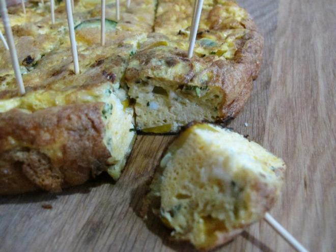 法式家常料理-鄉村櫛瓜蛋派Courgettes-2