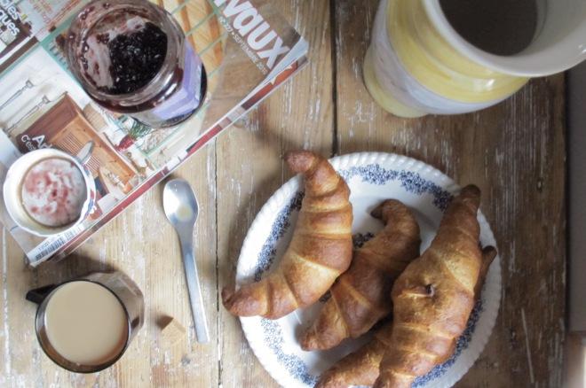 早餐的好伙伴 Croissants