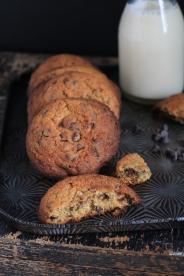 巧克力黑糖餅乾Cookies aux pepites de chocolat