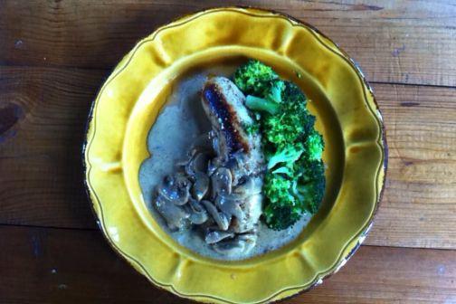 奶油蘑菇醬