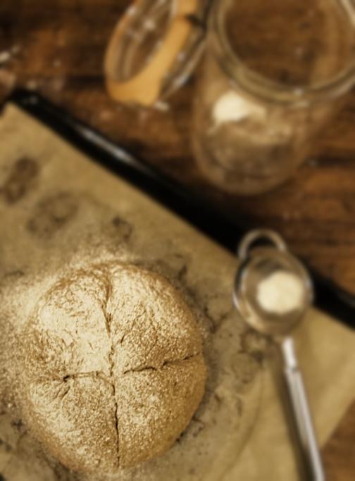 法式手工穀類麵包-1