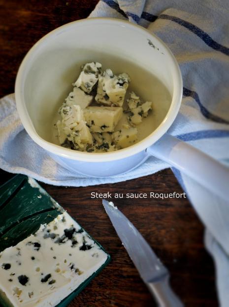 法國地區家常料理-奧福格藍乳酪牛排