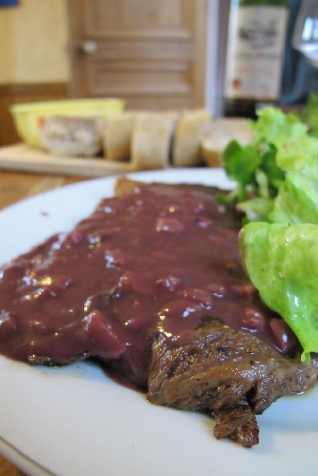 法式醬汁- 紅酒肉味醬汁