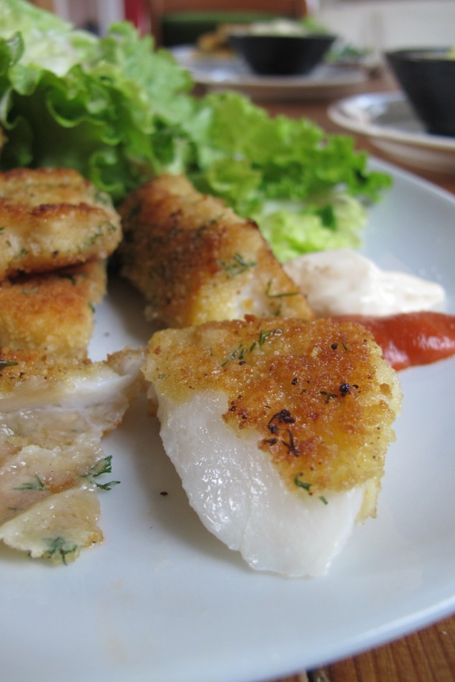 蒔蘿炸魚薯條
