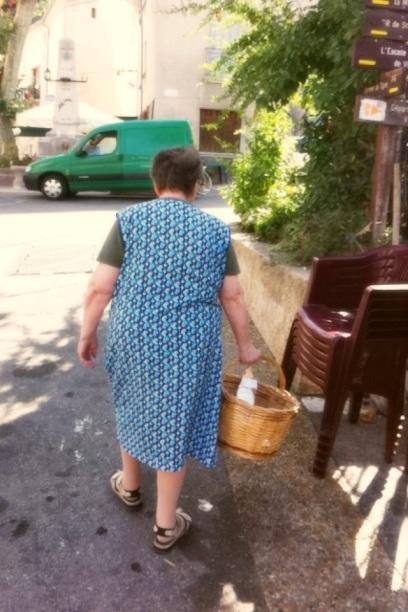 南法的老奶奶