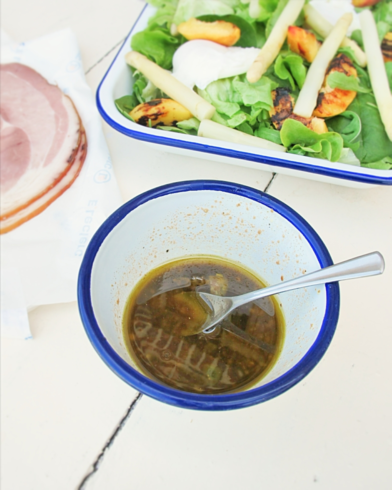 法式醬汁- 蜂蜜巴薩米可酒醋醬汁Vinaigrette au miel-2