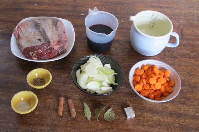 義式家常料理-紅酒煟煮炭牛肉 Boeuf braise au vin rouge