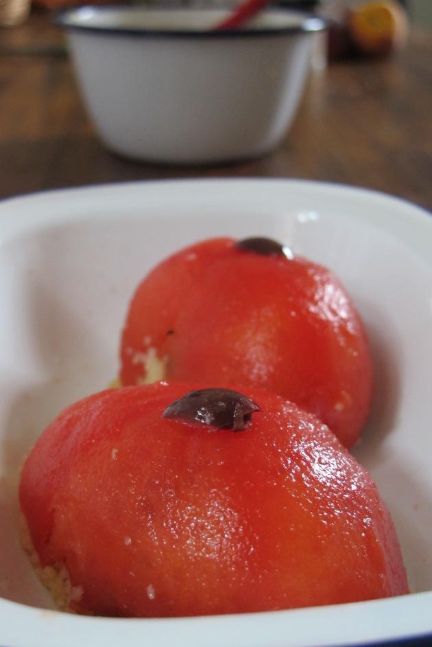 蔬菜蕃茄鑲餡