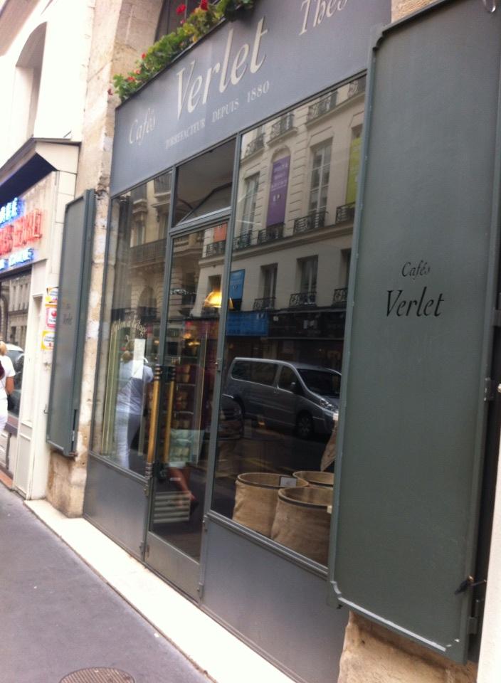 巴黎旅遊美食-咖啡老店Cafés Verlet-1