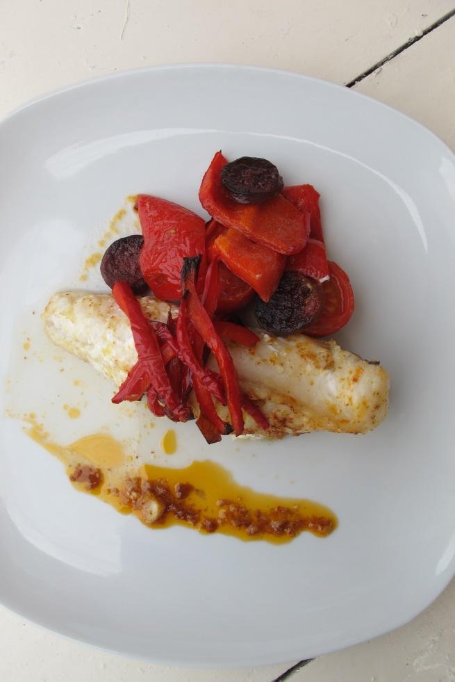 法國家常創意料理-西班牙風鮟鱇魚-6
