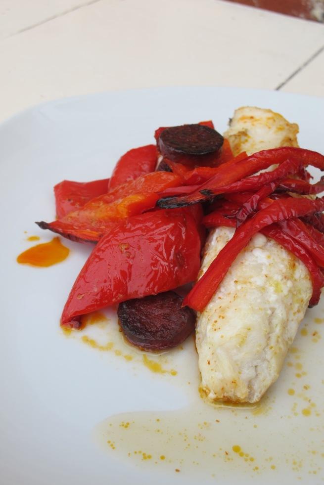 法國家常創意料理-西班牙風鮟鱇魚-8