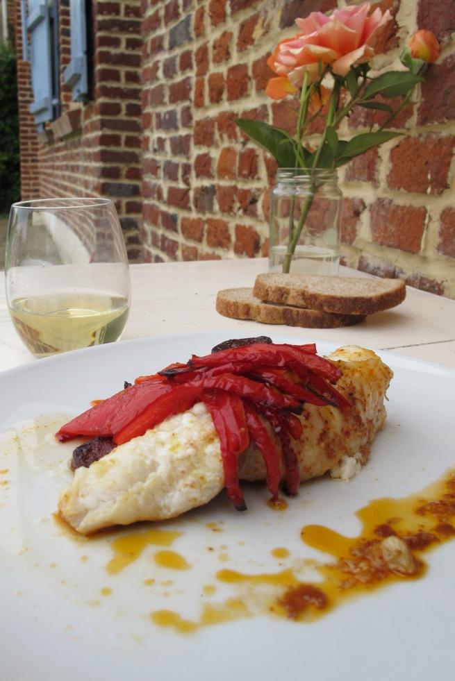 法國家常創意料理-西班牙風鮟鱇魚-9