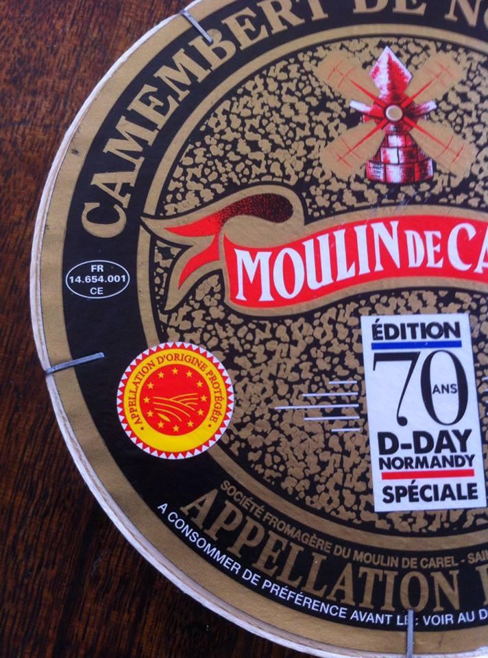 法國美食旅遊-品嚐法國乳酪諾曼第的Camembert de Normandie (AOP)