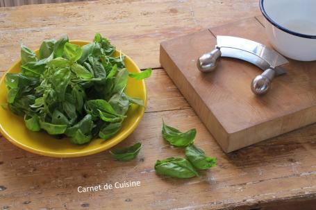 法國手工麵包-羅勒橄欖油麵包Le pain de basilic-1