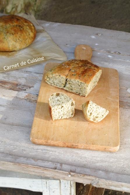 法國手工麵包-羅勒橄欖油麵包Le pain de basilic-10