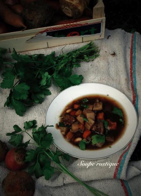 法國家常料理-鄉村湯Soupe Rustique-3
