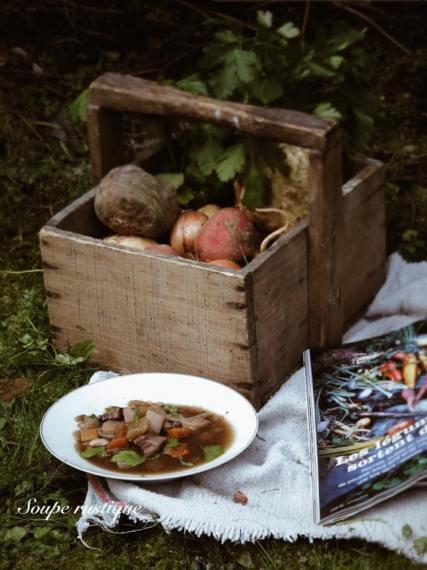 法國家常料理-鄉村湯Soupe Rustique