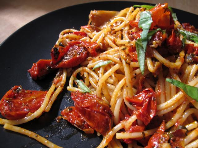 法國家常料理-油封番茄義大利麵 Spaghetti aux tomates confit-3