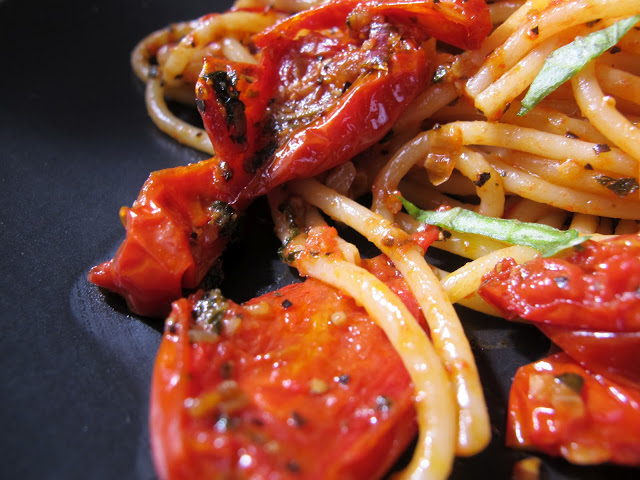 法國家常料理-油封番茄義大利麵 Spaghetti aux tomates confit-4