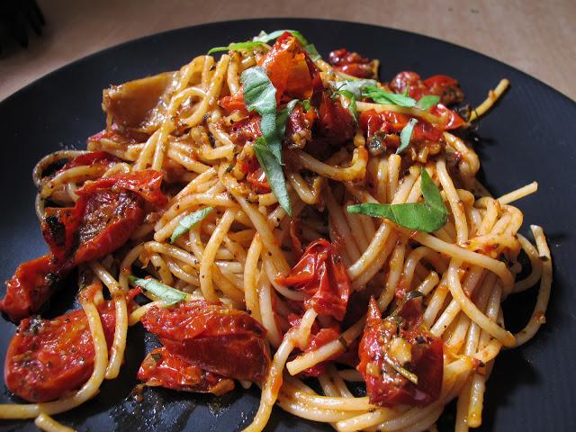 法國家常料理-油封番茄義大利麵 Spaghetti aux tomates confit-5