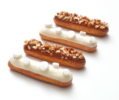 l'éclair blanc-manger 享用白色泡芙
