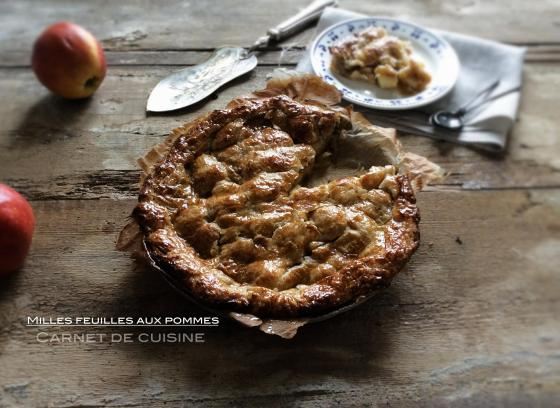 千層蘋果派Milles feuilles aux pommes-2