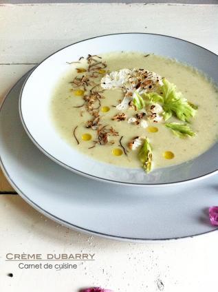 法國料理-情婦的濃湯奶油白花椰菜花湯Crème dubarry-2