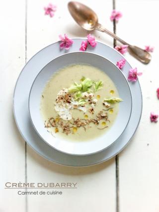 法國料理-情婦的濃湯奶油白花椰菜花湯Crème dubarry-3