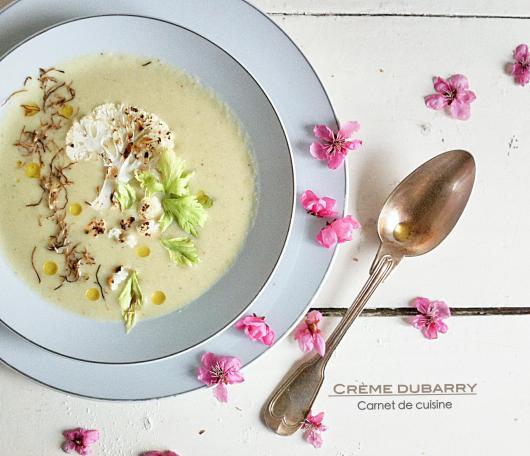 法國料理-情婦的濃湯奶油白花椰菜花湯Crème dubarry