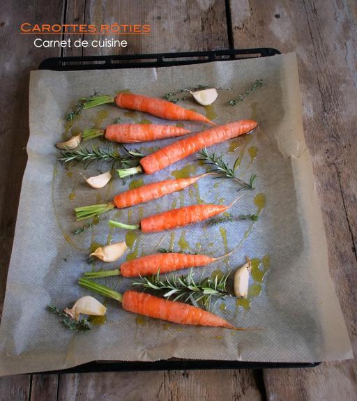 溫烤紅蘿蔔Carottes rôties-2