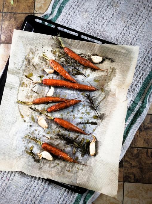 溫烤紅蘿蔔Carottes rôties-4