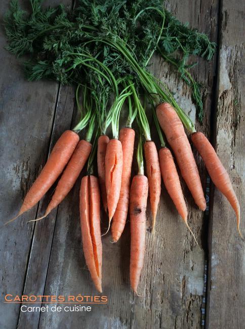 溫烤紅蘿蔔Carottes rôties