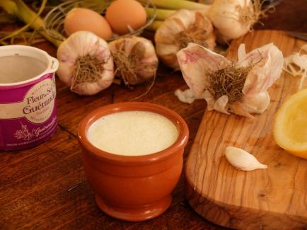 大蒜乳酪醬Condiment Crémenx à l'ail