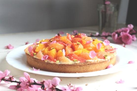 柑橘葡萄柚塔Tarte au pamplemousse-5