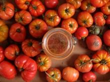 蔬菜在我的罐子裡-無水熬煮番茄醬Sauce tomates-13