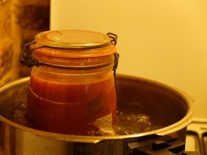 蔬菜在我的罐子裡-無水熬煮番茄醬Sauce tomates-16