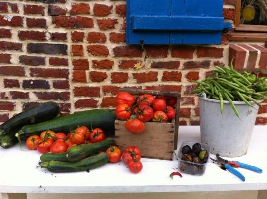 蔬菜在我的罐子裡-無水熬煮番茄醬Sauce tomates-7