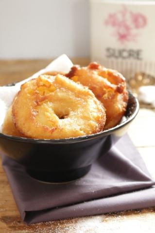 炸肉桂蘋果甜甜圈Beignet de pomme à la cannelle