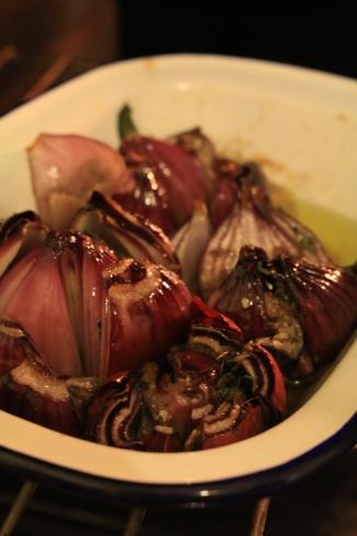 烤薄荷洋蔥Oignon rôtis à la menthe