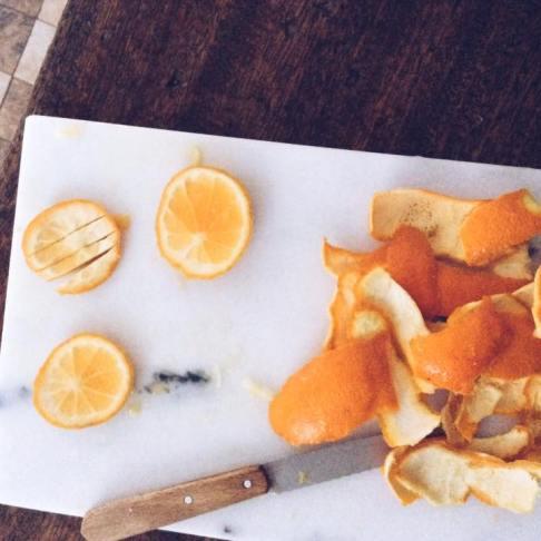 法式甜點- 甜橙皮巧克力棒Ecorces d'oranges confites au chocolat