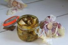 油封蒜conserver ail confit