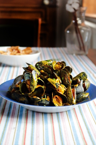 咖哩淡菜MOULES AU CURRY