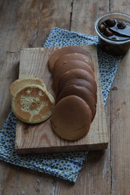 法國創意甜點-栗子霜銅鑼燒DORAYAKI  AU CRÈME CHÂTAIGNE